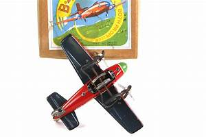 B 45 Dual Propeller Plane By Bandai Antique Toys For Sale