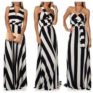 black and white striped wedding dress killer striped black and white maxi dresses
