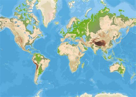 chambre deco ado mappemonde grand tableau décoratif carte du monde avec