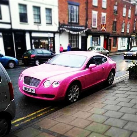 One For The Ladies, Bentley Continental Gt Pink! Luxury