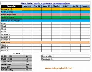 best photos of hotel staff duty list template staff duty With duty schedule template