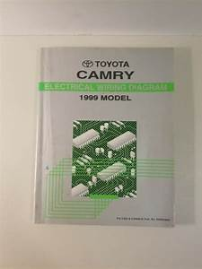 1999 Toyota Camry Electrical Wiring Diagram Factory Manual