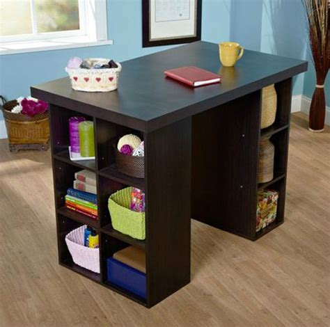 16 Crafting Table With Storage To Indulge In Creativity. Computer Desk With Hutch Cheap. Desk Chair Floor Mats. Table Computer Desk. Coffee Table Bases. Modern Desk Clock. Desk Review Audit. Standing Desk Lifehacker. Pub Table