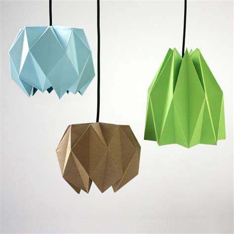 abat jour origami abat jour origami oeuvre d en papier pour votre
