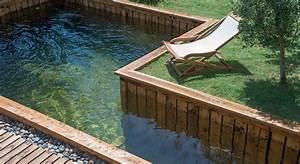 mini piscines 8 modeles pour les petits jardins With delightful maison en rondin prix 11 deco jardin avec rondin de bois