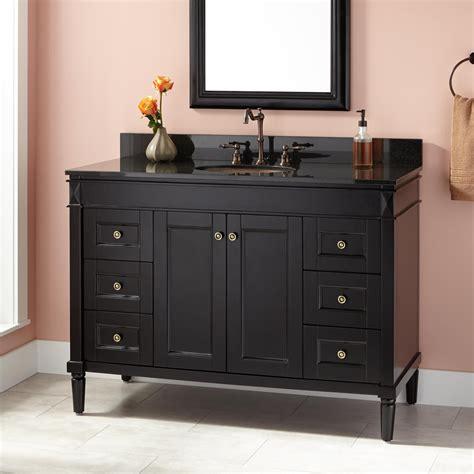 bathroom vanity cabinet 48 quot chapman vanity for undermount sink espresso