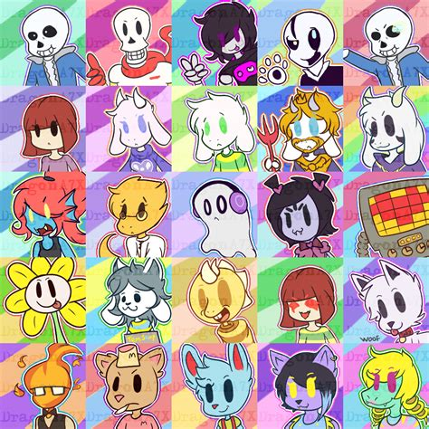 free anime update free to use undertale avatars update by dragona7x
