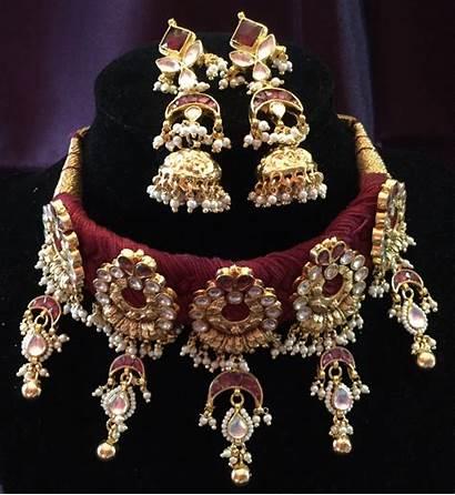 Jewelry Gold Indian Jewellery Bridal Rajputi Necklace