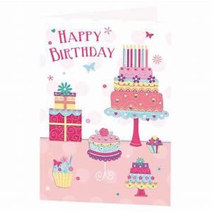 Birthday, Cake, U0026, Presents, Birthday, Card