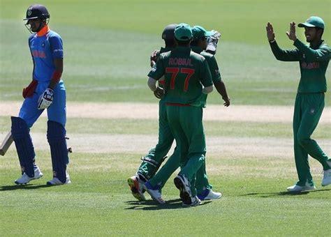 Shivam mavi is an indian cricketer. U-19 WC PIX: India thrash Bangladesh, set up semis date ...