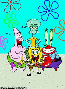 Spongebob - Patrick - Squidward - Mr Krabs by ...