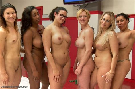 Crowd Of Wrestlers Make The Group Fight In Xxx Dessert Picture 18