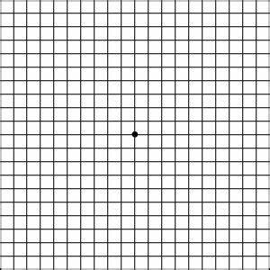 Amsler Chart To Test Your Sight American Macular