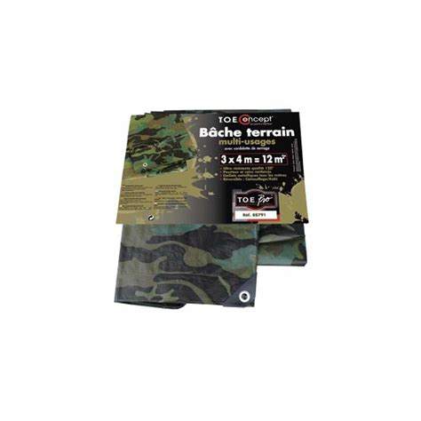 bache  filet camouflage bache multi usages camouflage