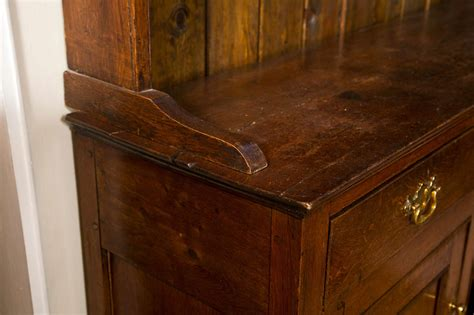 Antique Hutches And Sideboards by Antique Oak Sideboard With Shelved Hutch At 1stdibs