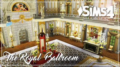 how to blueprints for a house the sims 4 speed build the royal ballroom