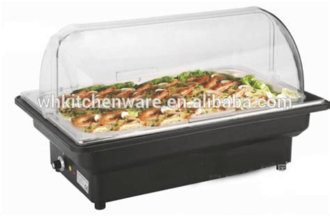 Roll Top Induction Chafing Dish/electric Chafing Dish