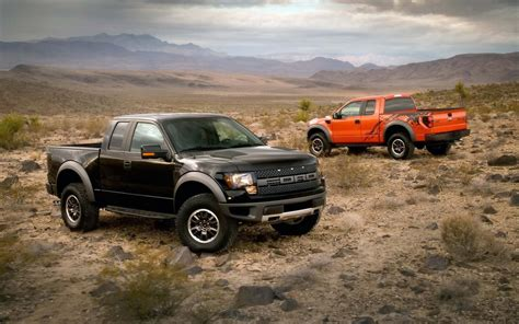 cars desert ford  svt raptor pickup trucks wallpaper