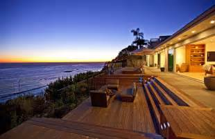 vacation home designs waterfront vacation home plans oceanfront luxury home for sale in malibu modern house designs