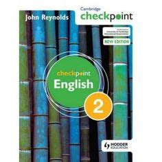 secondary checkpoint english books images
