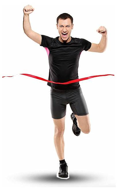 Running Transparent Male Woman Runing Runner Strong