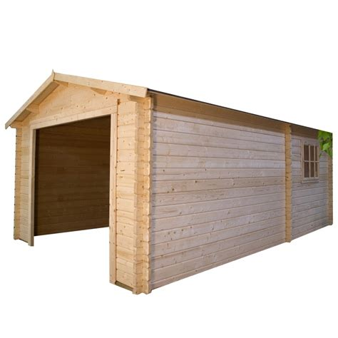 Garage Box Auto by Garage Box Auto In Legno Da Esterno Bsvillage