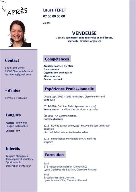 De Cv by Le Cv Et La Lettre Le Portail De L Information Jeunesse