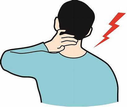 Neck Pain Clipart Crick Idiom Clear Pro