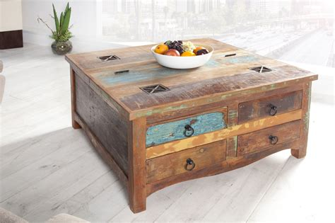 kleine salontafel hout salontafel recycled hout meubeldeals nl