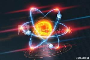 U0026quot Atomic Structure  Futuristic Concept On The Topic Of