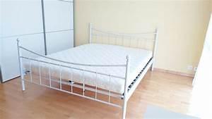 Bett Inkl Matratze : bett weiss160 x 200 cm inkl matratze kaufen auf ricardo ~ Watch28wear.com Haus und Dekorationen