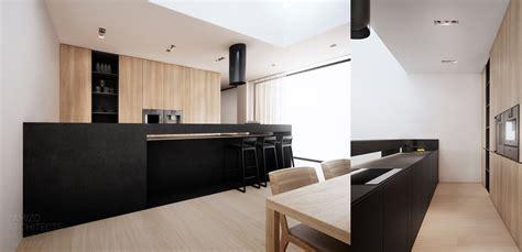 Black White Wood Kitchens by Black Kitchen Counter Interior Design Ideas