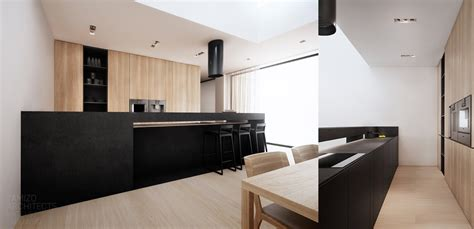Blackkitchencounter  Interior Design Ideas