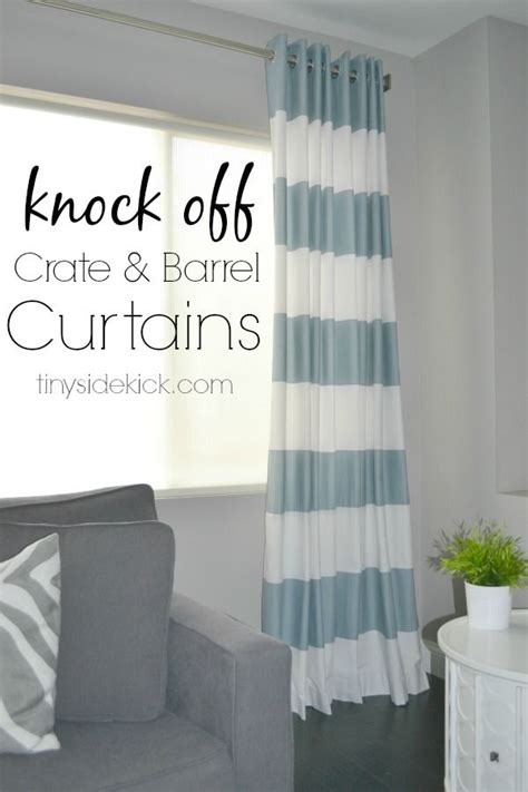 diy grommet top curtains using shower curtains crate and