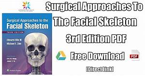 Surgical Approaches To The Facial Skeleton 3rd Edition Pdf