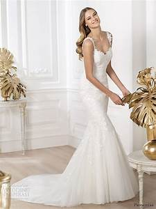 picture of stunning pronovias 2014 wedding dresses pre With pre wedding dress