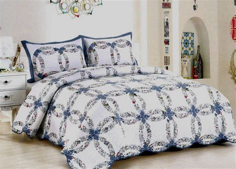wedding ring patchwork quilt american hometex quilts blanket warehouse