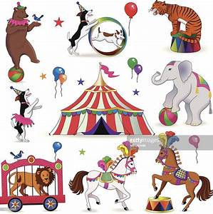 Circus Animals Vector Art | Getty Images