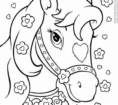 Coloring Pages Easy Puppy Princess Colour Boys