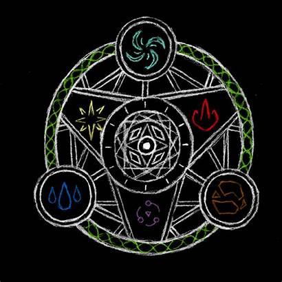 Circle Elemental Magic Spell Deviantart Circles Symbols