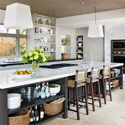 kitchen island with storage and seating how to choose the ideal barstool for your kitchen island