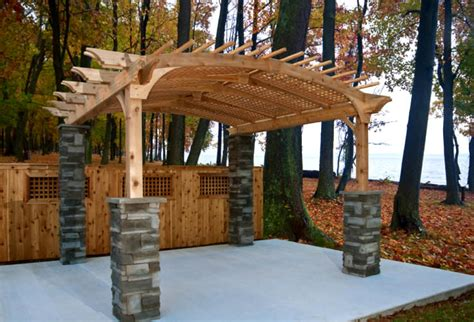 wood for a pergola building a pergola is there a better way than wood deckadvisor