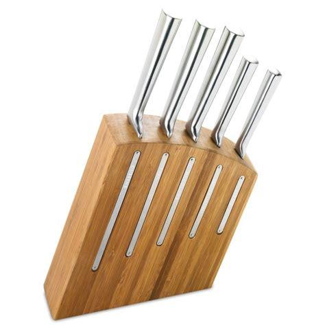 bloc couteau de cuisine bloc et 5 couteaux de cuisine