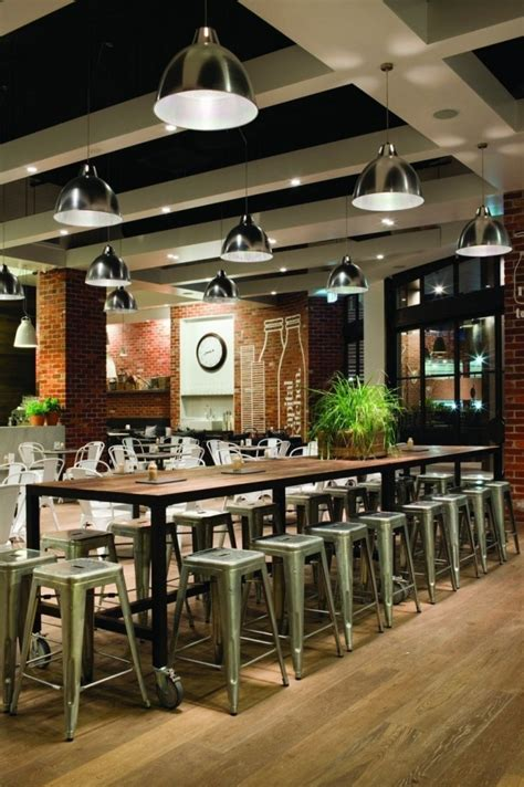 Rustic Cafe Interior Design  Restaurantbakery Ideas
