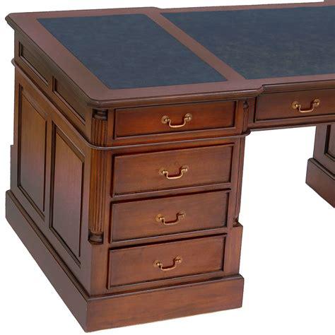 bureau anglais bureau style anglais victorien acajou wingfield meuble