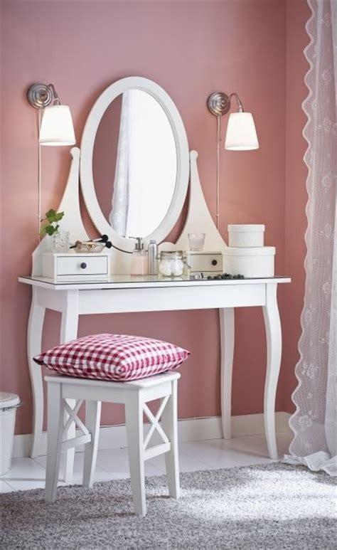 girls white vanity table hemnes dressing table with mirror white vanities