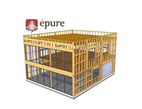 bureau d ude structure bois construction bureau ossature bois toulouse epure bois