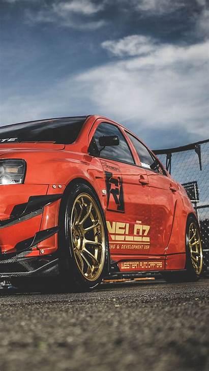 Mitsubishi Lancer Evolution Race Evo Racing Iphone