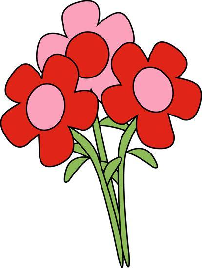 Valentine's Day Flowers Clip Art