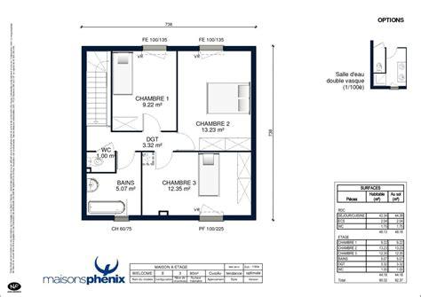 plan maison 2 chambres plan maison phenix plain pied 2 chambres